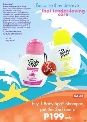 Baby Spa Shampoo 2